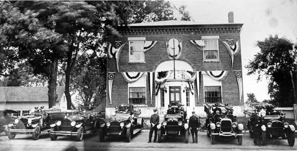 Greenville Fire Company - c.1936. Photo contributed by Kenneth A. Brown, Sr.
